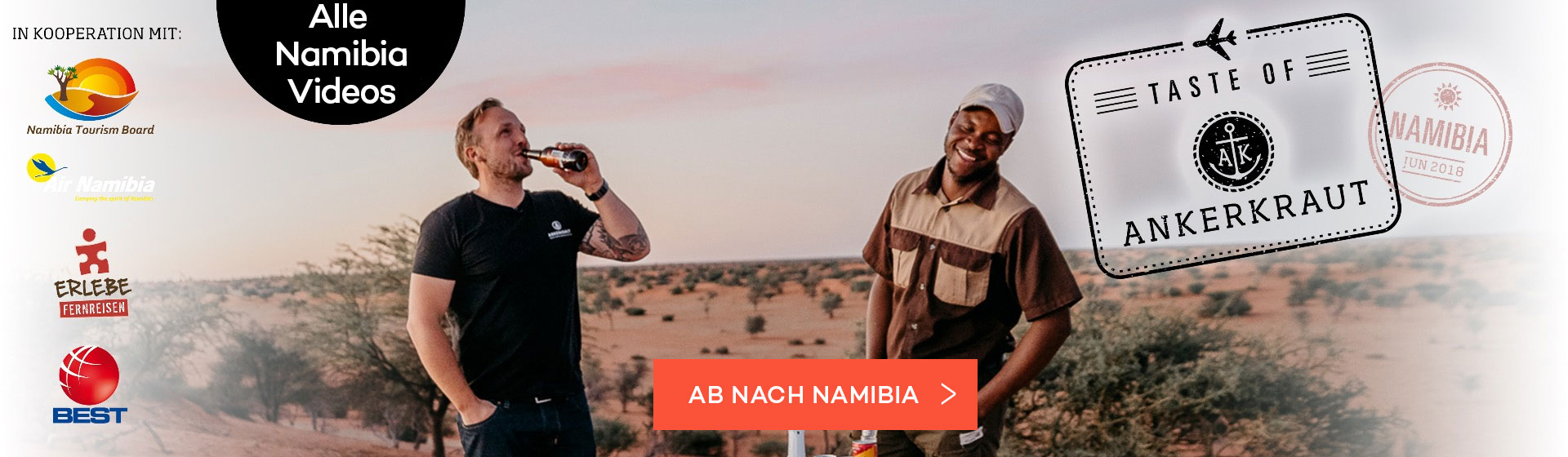 The Taste of Namibia